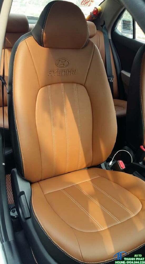 bọc ghế da xe hyundai grand i10 tại hcm