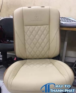 may ghế da xe mitsubishi pajero tại tphcm