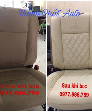 may ghế da xe mitsubishi pajero sport