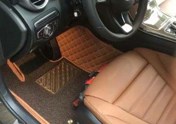 thảm lót chân 5d cho xe ô tô tại quận gò vấp