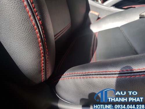 may ghế da cho xe Honda City