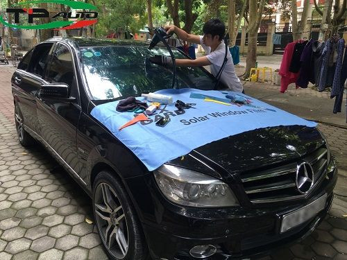 dán film cách nhiệt cho xe HYundai accord