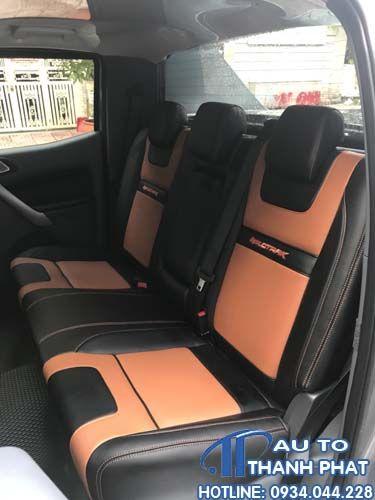 bọc ghế da xe ford ranger tại hcm