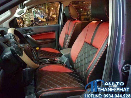 ghế da xe ford ranger đẹp nhất
