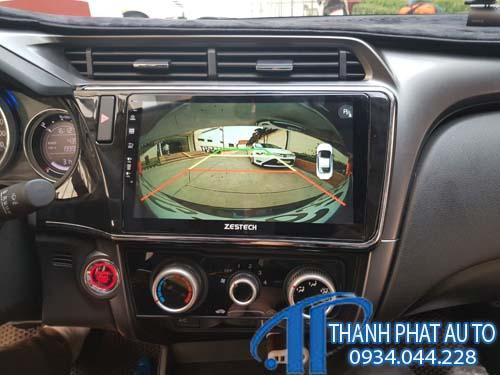 cửa hàng lắp đặt Màn Hình DVD Androi Honda Brio