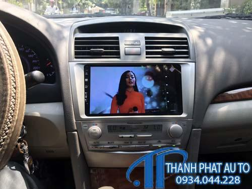 man hinh dvd camry androi 10in thanhphatauto