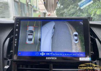 Lắp đặt camera 360 độ DCT xe Toyota Yaris